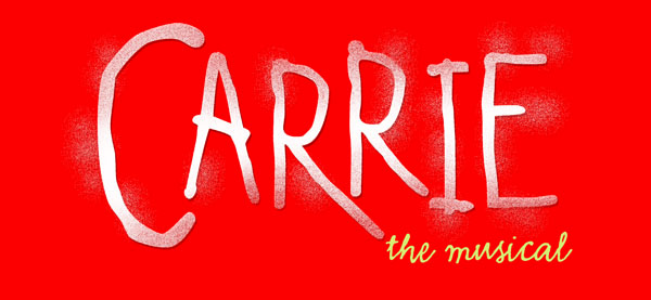 Carrie the Musical logo