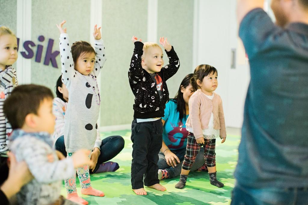 Kindermusik HongKong Crisel Young Toddler physical movement rhythm
