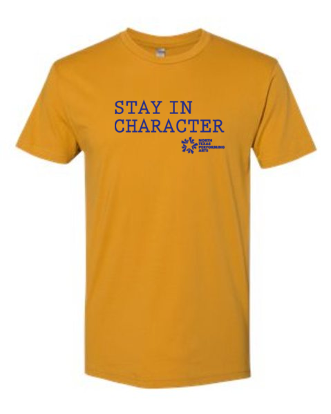 Stay in Character Tee