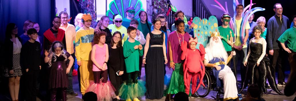 NTPA Starcatchers special needs theatre performance of Little Mermaid