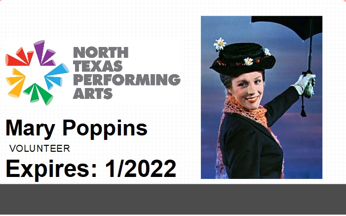 Poppins Security Badge