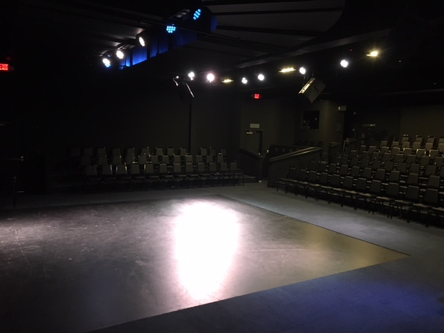 Willow Bend Thrust Stage View