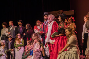 Scrooge the Musical 2019 performance