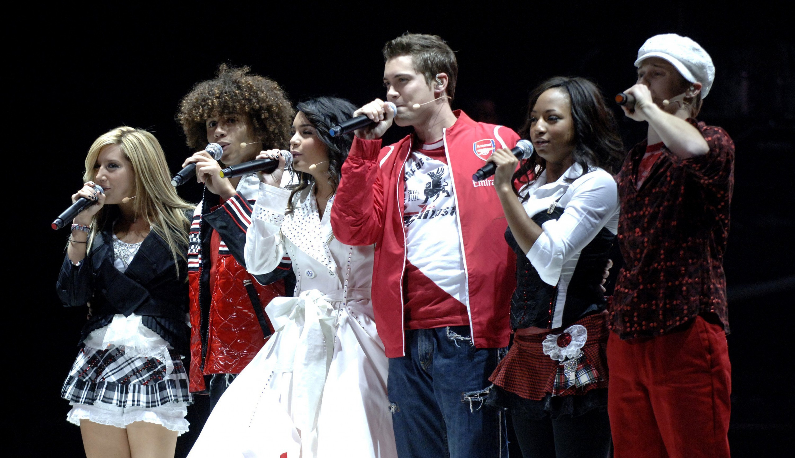 Drew Seeley in High School Musical the Tour