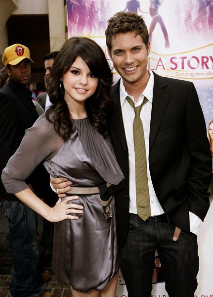 Drew Seeley and Selena Gomez